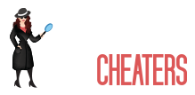 she chases cheaters logo